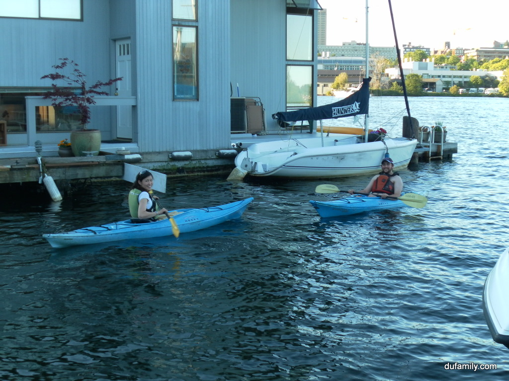 Houseboat Kayaking
