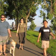 Myrtle Edwards Park with DuoDuo and Ken