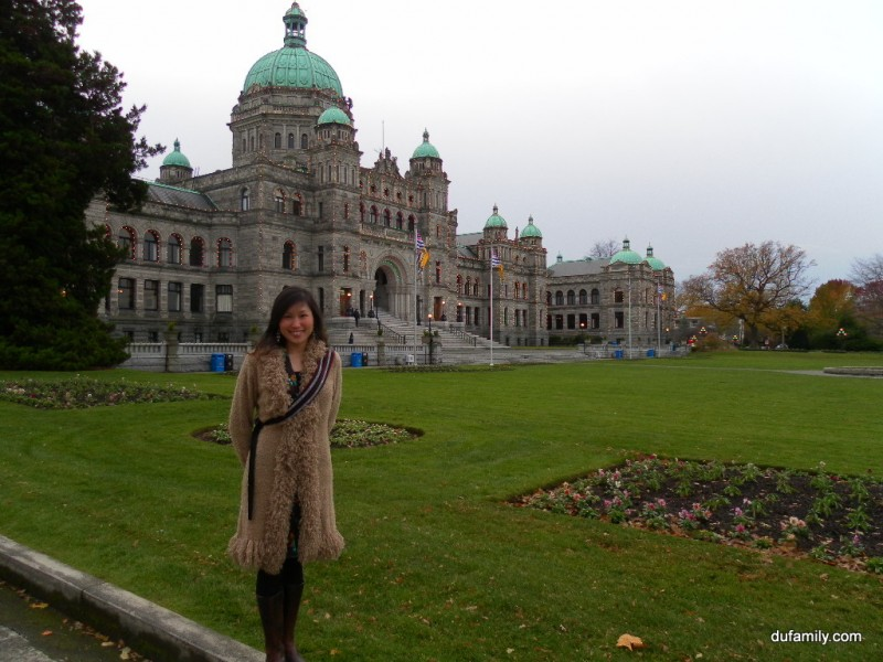 Noah and Parliment Building BC