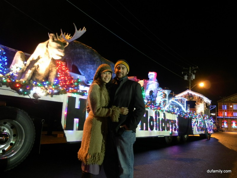 Holidy Light Parade in Victoria