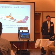 Presenting at the Northwest Aviation Law Seminar